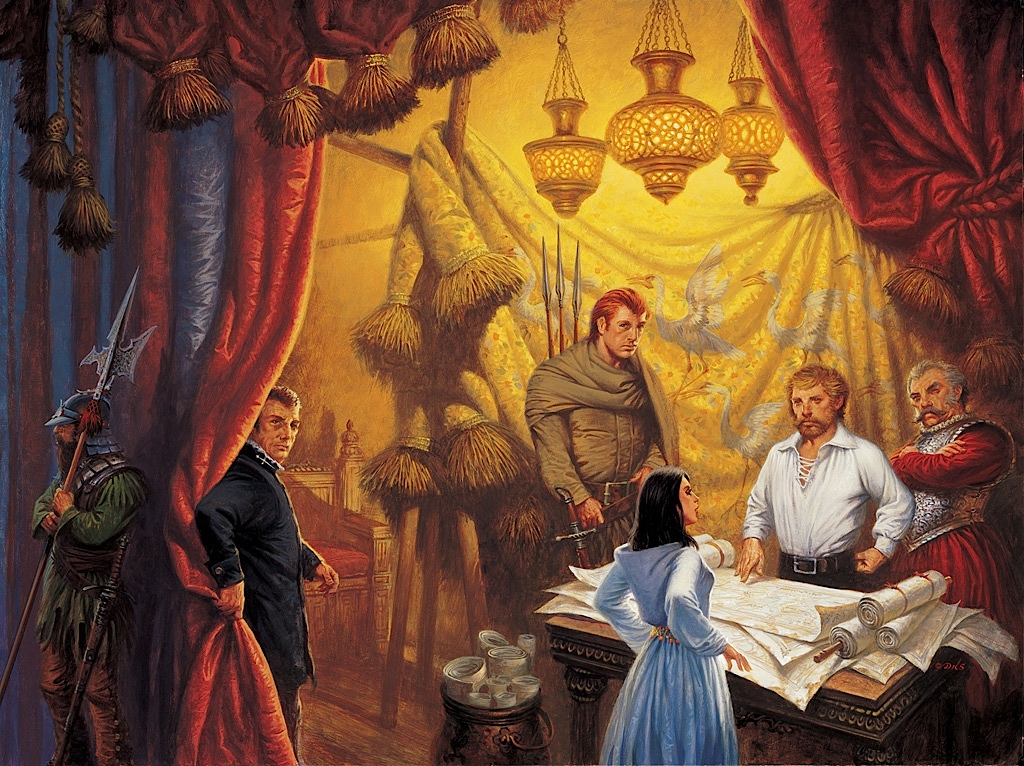 Knife of Dreams cover by Darrell K Sweet