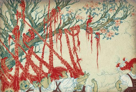 Yuko Shimizu Hair Tree