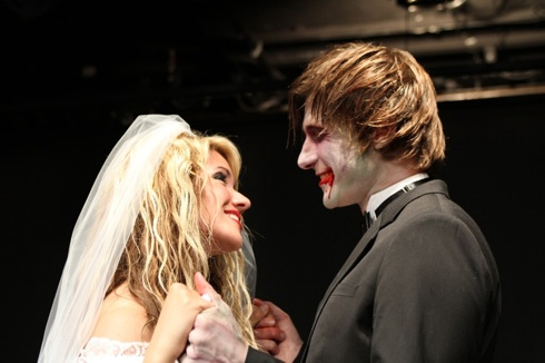 Zombie Wedding. Photo by Dixie Sheridan