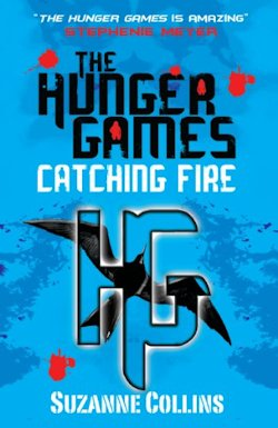 The Hunger Games Catching Fire UK Cover