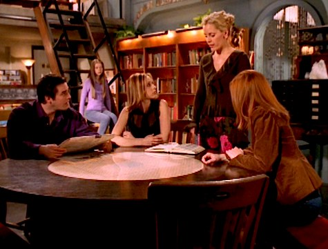 Buffy the Vampire Slayer, Dead Things, Willow, Anya, Xander, Dawn