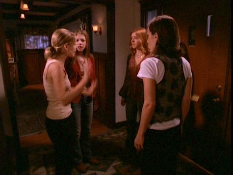 Buffy the Vampire Slayer, Him, Dawn, Willow, Anya