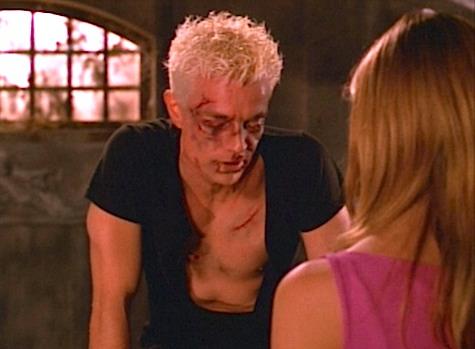 Buffy the Vampire Slayer, Intervention, Spike