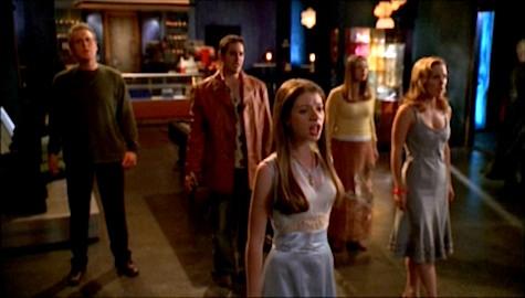 Buffy the Vampire Slayer Once More With Feeling Dawn, Giles, Xander, Anya, Tara