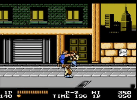 Double Dragon for NES