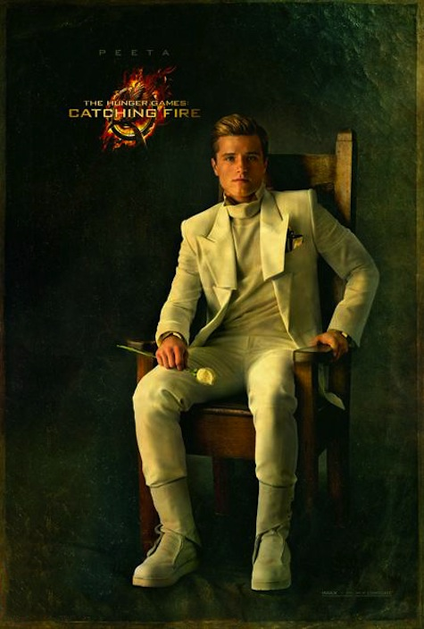 Capitol Portraits Peeta Mellark Josh Hutcherson Catching Fire