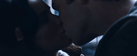 Catching Fire teaser trailer MTV Movie Awards Katniss Everdeen Jennifer Lawrence Peeta Mellark Josh Hutcherson Plutarch Heavensbee Philip Seymour Hoffman District 11 Gale Hawthorne Liam Hemsworth Gale Katniss kiss