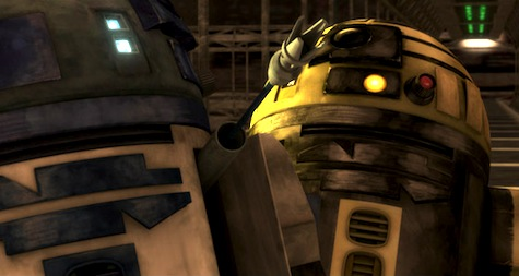 Star Wars The Clone Wars, r2-d2