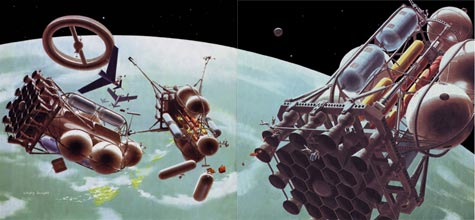 Collier's, Chesely Bonestell spread