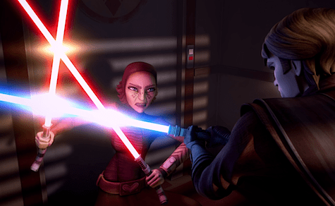 Star Wars The Clone Wars, The Wrong Jedi, Barriss Offee, Anakin