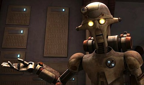Star Wars The Clone Wars, Anakin, David Tennant droid