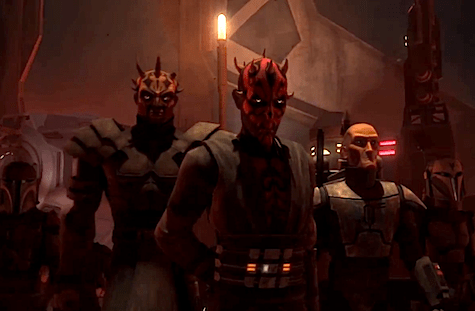 Star Wars The Clone Wars, Eminence, Viszla, Maul, Savage