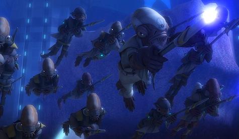 Star Wars: The Clone Wars, Man Cala