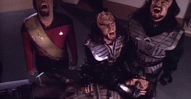 The Klingon death scream