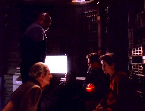 Deep Space Nine, The Darkness and the Light, Sisko, Kira, Odo, Prin, Bashir