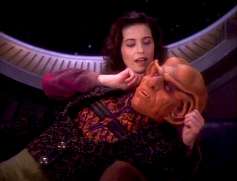 Star Trek: Deep Space 9, Q-Less