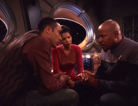 Deep Space Nine, Rapture, Sisko, Jake, Yates