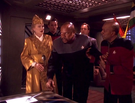 Deep Space Nine, Rapture, Sisko, Winn, Whatley