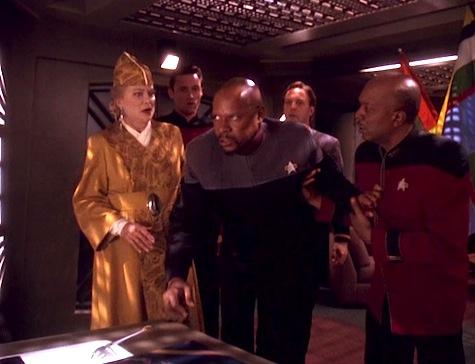 Deep Space Nine, Rapture, Sisko, Winn, Whatley