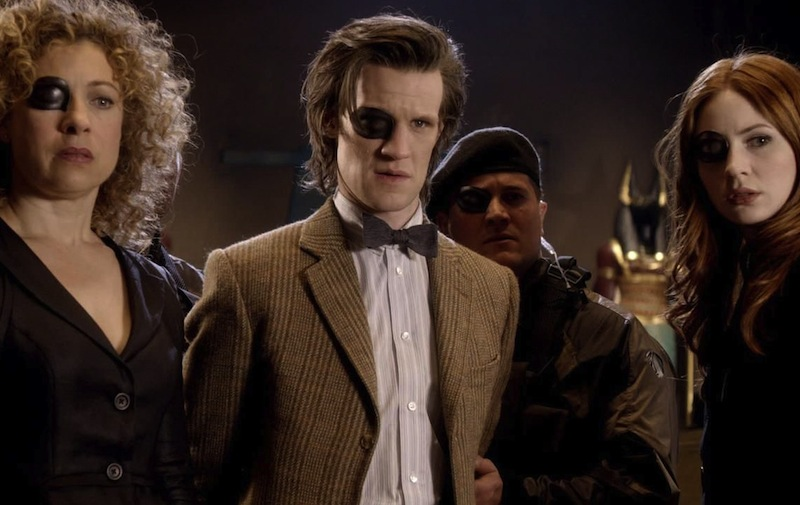 Doctor Who, Eleven, Matt Smith, Rover Song, Amy Pond