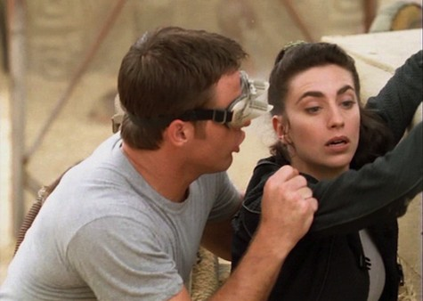Back off, John, Aeryn can do this blind. No joke.