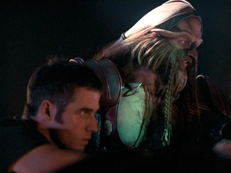 Farscape, Losing Time, Crichton, D'Argo