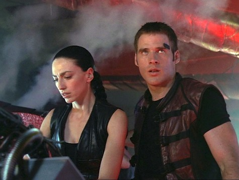 Farscape, Thanks For Sharing, Crichton, Aeryn