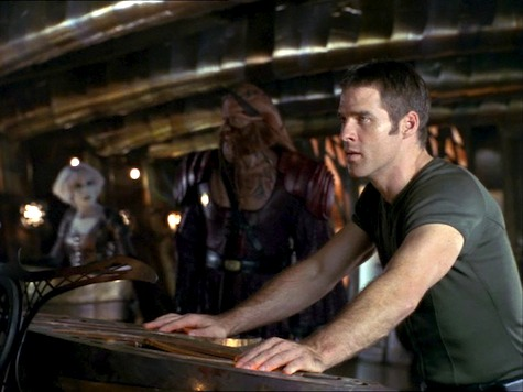 Farscape, Thanks For Sharing, Crichton, Chiana, D'Argo