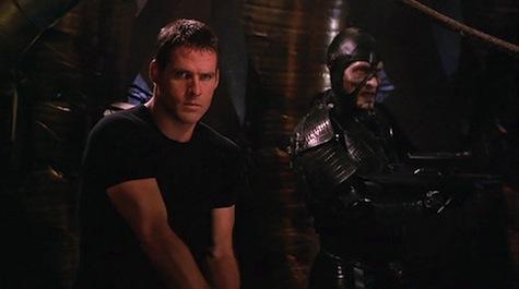 Farscape, I Shrink, Therefore I Am, Crichton, Scorpius