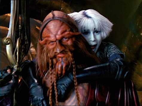Farscape, Self-Inflicted Wounds, Wait For the Wheel, D'Argo, Chiana