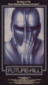 VHS Cover Future Kill H.R. Giger