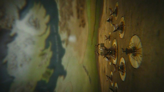 Game of Thrones title sequence