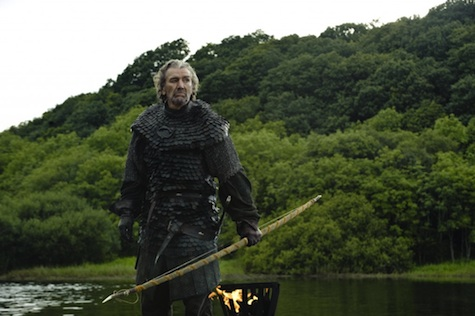 Game of Thrones season 3 Brynden Blackfish Tully