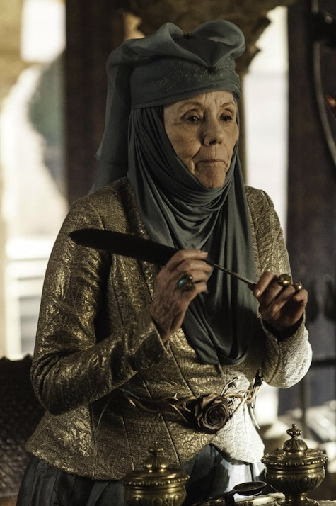 Game of Thrones season 3 Olenna Reed