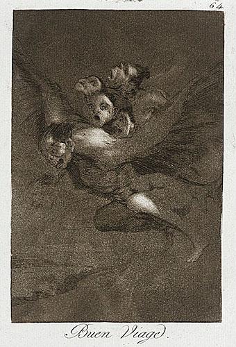 Bon Voyage (1799) by Goya