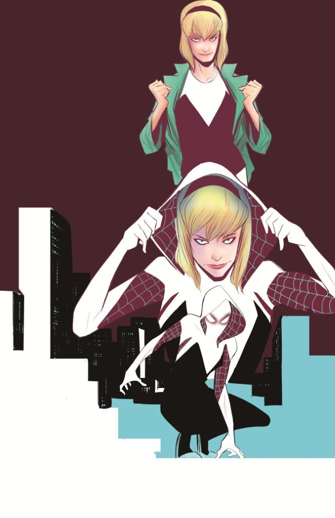 Gwen Stacy Spider-Woman suit