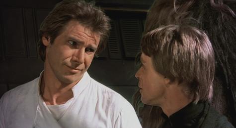 Han Solo Luke Skywalker Return of the Jedi