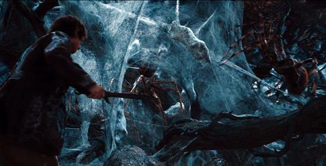 The Hobbit Tolkien Peter Jackson Mirkwood spiders