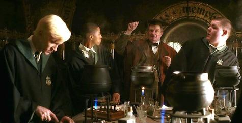 Slytherin House potions Malfoy Slughorn