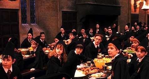 Harry Potter and the Philosopher's Stone, Great Hall