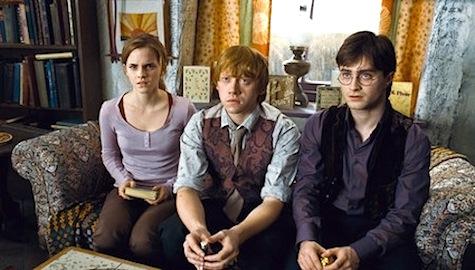 Ron Weasley, Harry Potter, Hemione Granger