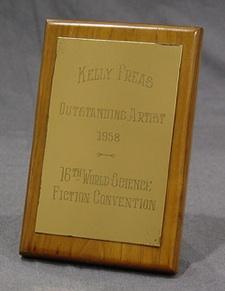 1957 Hugo Awards Trophy