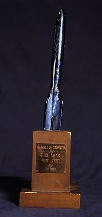 1960 Hugo Awards Trophy