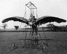 Human powered Ornithopter