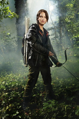 Characters from the hunger games book