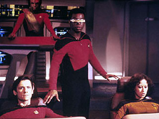 La Forge in charge