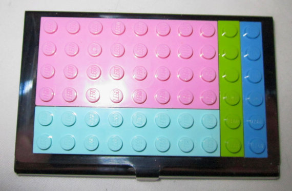 Lego Business Card Case by Oaktopia Design