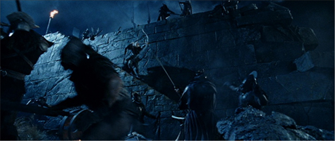 The Hobbit Tolkien Peter Jackson Legolas Helm's Deep