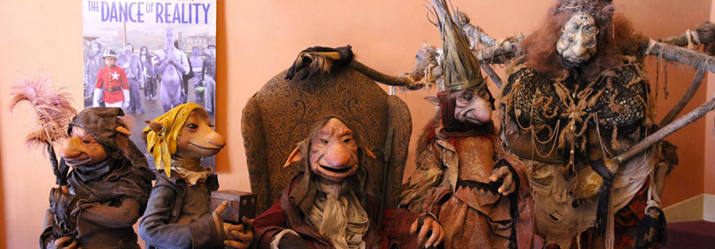 Labyrinth baby stripey pajamas short film Lessons Learned Toby Froud Heather Henson puppets