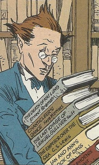 Neil Gaimain Sandman Lucien librarians